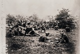 Bivouac of American troops, c1914-c1918 Photographic Print by  Unknown