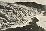 'Side of Ferrar Glacier. Figure of Man in Lower Left Corner', c1908, (1909) Photographic Print by  Unknown