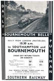 'Bournemouth Belle - Southern Railway', 1936 Photographic Print by  Unknown