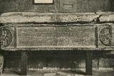 'Tomb of Valerius Amandinus (A Roman General)', 1908 Photographic Print by  Unknown