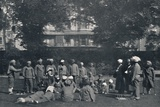 'Convalescent Indian Soldiers Playing Quoits on the Eastern Lawns', c1915, (1939) Photographic Print by  Unknown