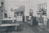 'A dining and sitting room', 1942 Photographic Print by  Unknown