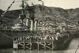 'A Photograph Taken From The Nimrod...Lyttelton', 1908, (1909) Photographic Print by  Unknown
