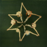 Polaroid, Overhead View of Ballerinas Photographic Print by Co Rentmeester