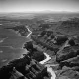 Colorado River Winding its Way Through Grand Canyon National Park Photographic Print by Frank Scherschel