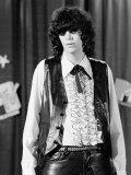 Punk Rock Singer Joey Ramone of The Ramones Premium fotografisk trykk