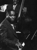 Esquire Jam Session: Art Tatum on Piano Impressão fotográfica premium por Gjon Mili