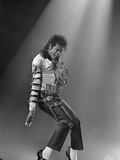 Michael Jackson, Engelse tekst: King of Pop Premium fotoprint