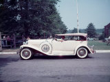 Side View of Classic 1930 Dusenberg Phaeton Reproduction photographique par Peter Stackpole