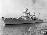 American Heavy Cruiser Uss Indianapolis Lámina fotográfica
