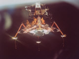 Apollo 11 Lunar Module in Landing Configuration, as Viewed from Command and Service Module Fotoprint