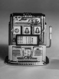 Slot Machine known as a One-Armed Bandit Photographic Print by Yale Joel