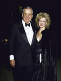 TV Personality Ed Mcmahon and Wife, Victoria Valentine Premium Photographic Print by Kevin Winter