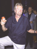 Entrepeneur Richard Branson Premium Photographic Print by Marion Curtis