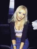 Singer Christina Aguilera Premium-Fotodruck von Dave Allocca