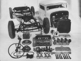 Dismantled Stock Car Photographic Print by Andreas Feininger