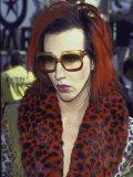 Singer Marilyn Manson at Mtv Video Music Awards Lámina fotográfica prémium por Mirek Towski