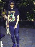 Punk Rock Singer Joey Ramone of Group the Ramones Lámina fotográfica prémium por Mirek Towski