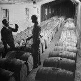 Proofing Whiskey at Jack Daniels Distillery Fotografisk tryk af Ed Clark