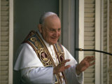 Pope John Xxiii During Ecumenical Council Premium fototryk