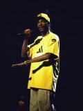Rapper Snoop Doggy Dogg Performing at Radio City Music Hall Premium Photographic Print