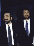 Director Martin Scorsese and Actor Robert De Niro Premium Photographic Print