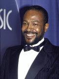 Singer Marvin Gaye Premium fototryk af David Mcgough