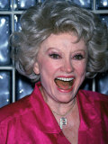 Comedian Phyllis Diller Laughing Premium Photographic Print