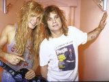 Rock Musicians Zack and Ozzy Osbourne Premium-Fotodruck von Kevin Winter