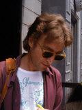 Rock Star John Lennon Premium Photographic Print by David Mcgough