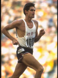 US Track Athlete Jim Ryun in Action at the Summer Olympics Premium Photographic Print by John Dominis