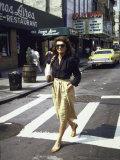 Jackie Kennedy Onassis Premium Photographic Print by David Mcgough
