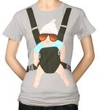 Juniors: Hangover -  Baby Bjorn Tシャツ