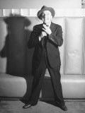 Comedian Jimmy Durante Performing Photographic Print