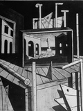 A View of a Painting by Artist Giorgio De Chirico Photographic Print