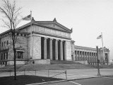 Exterior of Field Museum of Natural History Stampa fotografica