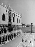 Exterior of the Doge's Palace Fotografisk tryk