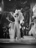 "Actress Lucille Ball Performing in a Scene from the Movie ""The Ziegfeld Follies"" Impressão fotográfica"