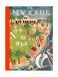 The New Yorker Cover - February 18, 1928 Premium Giclee Print by Theodore G. Haupt