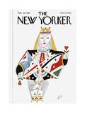 The New Yorker Cover - February 18, 1980 Premium Giclee Print by Paul Degen