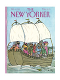 The New Yorker Cover - October 9, 1989 Premium Giclee Print by William Steig