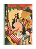 The New Yorker Cover - November 22, 1930 Premium Giclee Print by Theodore G. Haupt