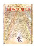 The New Yorker Cover - March 14, 1983 Reproduction giclée Premium par George Booth