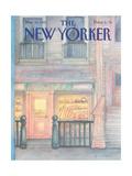The New Yorker Cover - March 30, 1987 Giclée-Premiumdruck von Iris VanRynbach