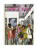 The New Yorker Cover - November 19, 1966 Giclee Print by Charles Saxon