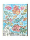 The New Yorker Cover - October 24, 1988 Giclee Print by Edward Koren