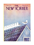 The New Yorker Cover - September 11, 1971 Premium Giclee Print by Charles E. Martin