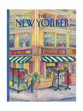 The New Yorker Cover - May 16, 1988 Giclée-Premiumdruck von Iris VanRynbach