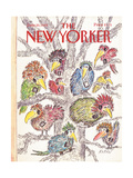 The New Yorker Cover - June 20, 1988 Giclee Print by Edward Koren