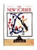 The New Yorker Cover - October 15, 1990 Giclee-trykk av Donald Reilly